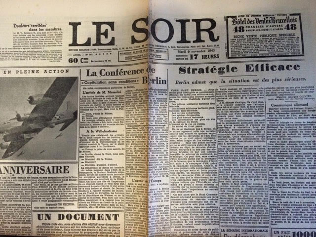 Le Soir Newspaper